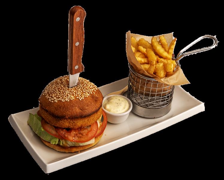 Veģetārais burgers