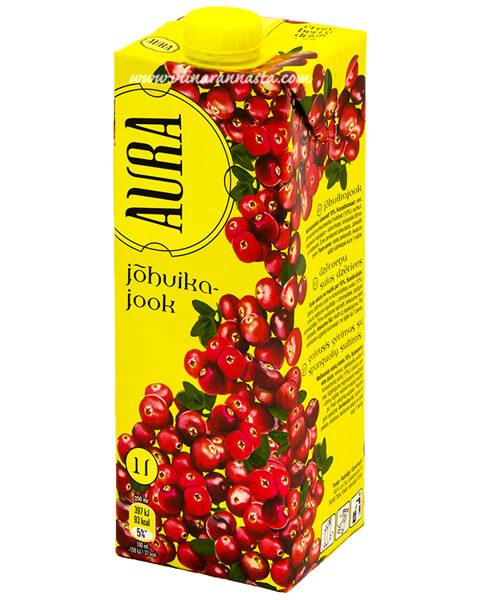 Auras sula 1l - Dzērveņu